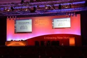 Conference Stage Set Solent Hall
