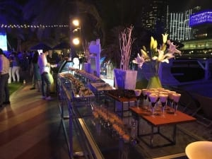 Outdoor corporate function Abu Dhabi