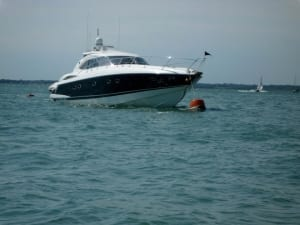 Sunseeker Predator 56 powerboat
