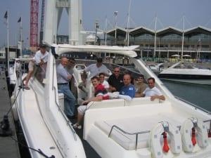Luxury Princess Powerboat charter