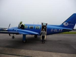 Eventscape corporate private plane charter, flight to lunch
