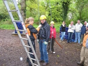 Rope-climbing-New-Forest-Team-Building