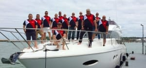 Team Building Luxury Powerboat Charter
