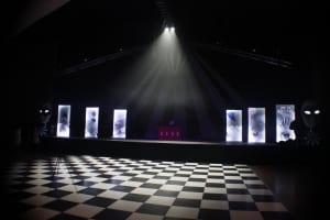 Black & White Dance Floor atmospheric
