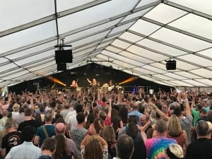 Oxted Beer Festival Tent