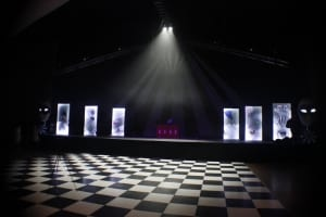 Black & White Dance Floor atmospheric