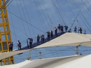 Climbing the O2