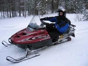 Sweden-snow-mobiling