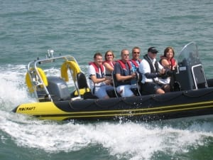 Rib experience Cowes Week Solent