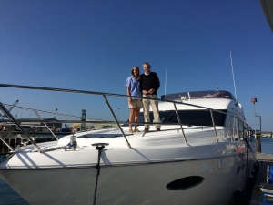 Princess-Powerboat-Charter-Solent